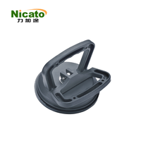 single cup two handles rubber black suction cup,vacuum suction pump,car window sucker