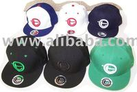 flat brim Bill fitted hats