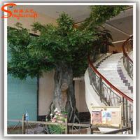Good quality and price artificial ficus tree fiberglass artificial big oak tree