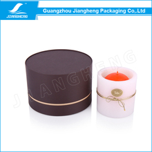 Luxury candle paper tube box packaging/cylinder packaging box