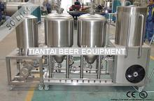 50-100L small beer brewing system for hobby or pilot