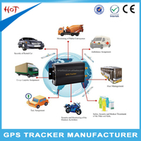 Bike gps device with android & ios app tracking smart gps vehicle tracker tk103b vehicle car gps tracking