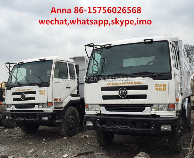 LHD Nissan ud tipper truck in hot sale Japan