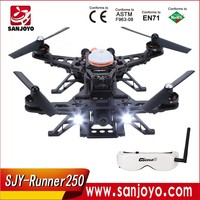Walkera RUNNER 250 Drone Modular Design Racing Quadcopter with camera FPV Drone Racer with OSG Goggle