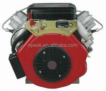 air compressed cooled 20 hp electric twin cylinder motorcycle diesel engines