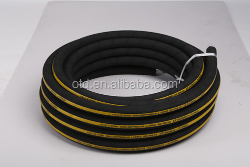 4SH 4sp hydraulic rubber hose for dozers,cranes,Dumpers application