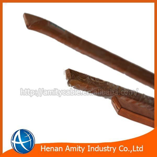 UEW/PEW/EIW/AIW flat enamaled copper /aluminum /cca wire for transformers