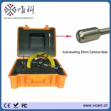 Underwater IP68 Video pipe Inspection Camera self-leveling sewer camers system