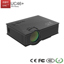 UNIC 1080P 1200 Lumens Wifi Built-in Mini LED Home Theater Smart UC46+ Projector with Android System
