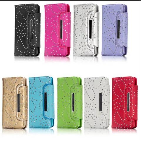 Removable Leather Card Wallet Flip Phone Case For Samsung S6 S7 S7 Edge S8 S8 PLUS NOTE 8