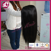 new! darling dear hair full lace wig approving free parting straight hair appreciate brazilian thick180%density hair