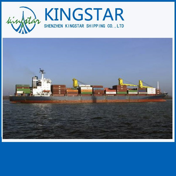 sea freight rates container shipping price to los angeles from shanghai