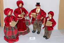 Christmas Fabric Choir Family set 46CM home decoration