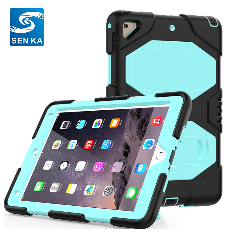 High Quality Pure Silicone Cover for iPad Air 2,9.7 inch Tablet Cover for Kids