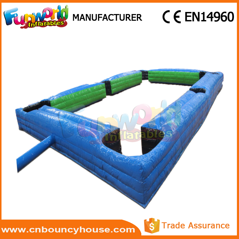 Best inflatable snooker ball Pool Table soccer ball in field