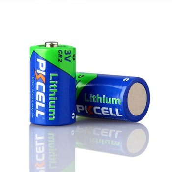 Lithium Manganese Battery Type 3V CR15H270 CR2 Limno2 850mAh Non-Rechargeable Lithium Ion Battery