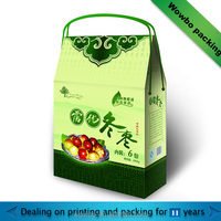 cardboard paper bag for jujube