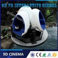 New Business Idea Newest Game Machine Space Capsule 9dvr Cinema Egg With Single or Triple Eggs