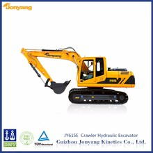 Ued JY615E middle crawler hydraulic earth moving equipment for rental