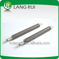 Air to water vacuum heater pipes