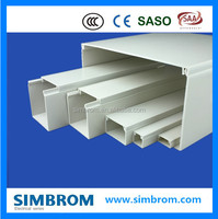 PVC Cable Channel/PVC Wire Duct/Black Pvc Cable Trunking