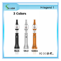 Hottest H-legend1 yahya glass hookah tobacco pen shisha pen with 18650 battery