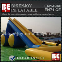 Attractive inflatable water slide pool