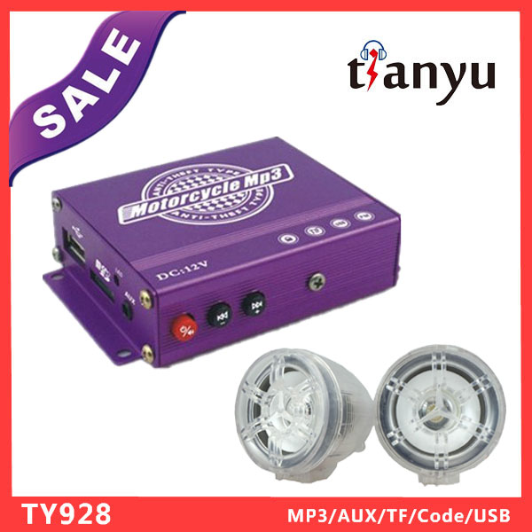 there wheel motorcycle of motorcycle mp3 audio alarm system dayun motorcycle with great price