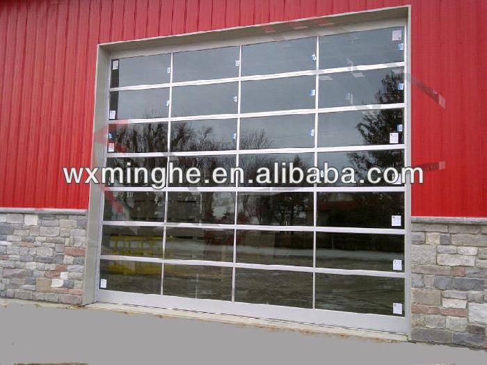Insualted vetro sezionale porta del garage porta id - Porta del garage ...