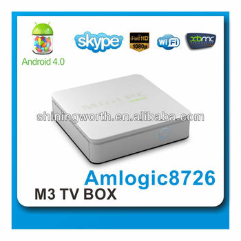 android 4.0 streaming tv box