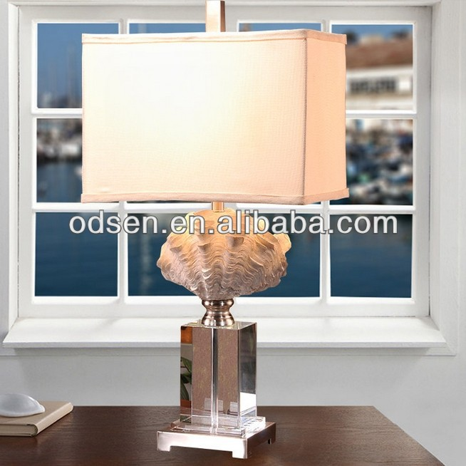 crystal fashionable table lamp jcpenney