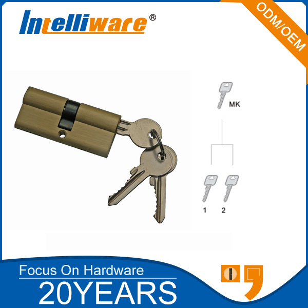 Brass Master Key Cylinder Door Lock