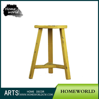 Antique Colorful Stool Home and Garden Stool Good Quality Wooden Stool