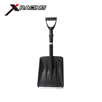Xracing NM-S521 China supplier /factory/ manufacturers hot sale 3-in-1 telescopic plastic snow shovel