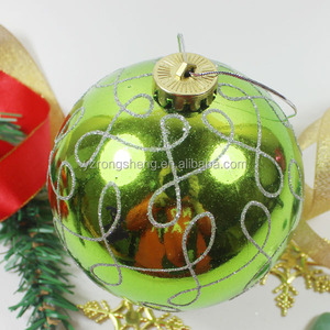 wholesale large hollow plastic christmas balls