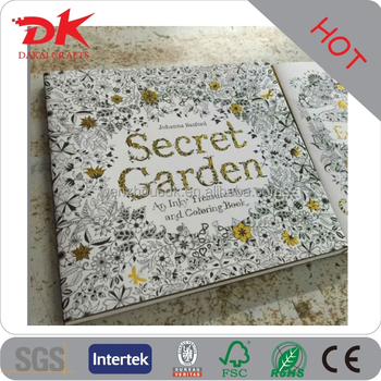 Wholesale English Gilding Enchanted Forest Coloring Books