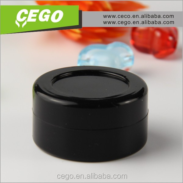 Wholesale Customized Clear Silicone Jars Non-stick Small silicone essential oil container in Stock!