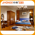 Guangzhou Manufacturers Home Bed Set Solid Wood Bedroom Furniture