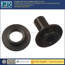 china manufacturer supply OEM and ODM black anodized aluminium guide bushing