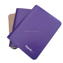 2016 A4 purple discoloration pu diary cover design leather
