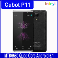 "Original Cubot P11 Mobile Phone MTK6580 Quad Core 1GB RAM 8GB ROM 5.0"" IPS 1280*720 Android 5.1 8.0MP Camera Dual SIM 3G Phoens"