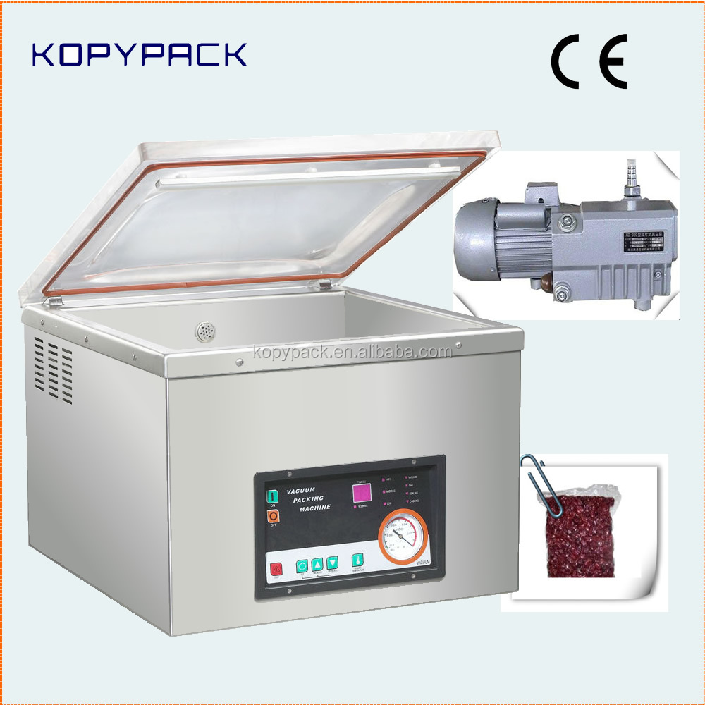 DZ-450A solid design benchtop vacuum packer for sea food