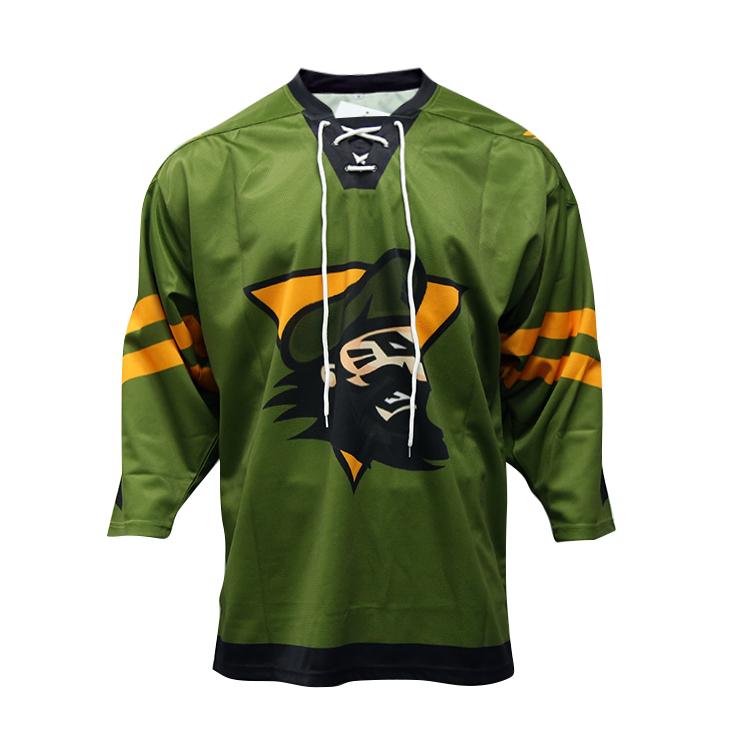 Multicolor Custom Sublimation Ice Hockey Jersey Cheap Team Hockey