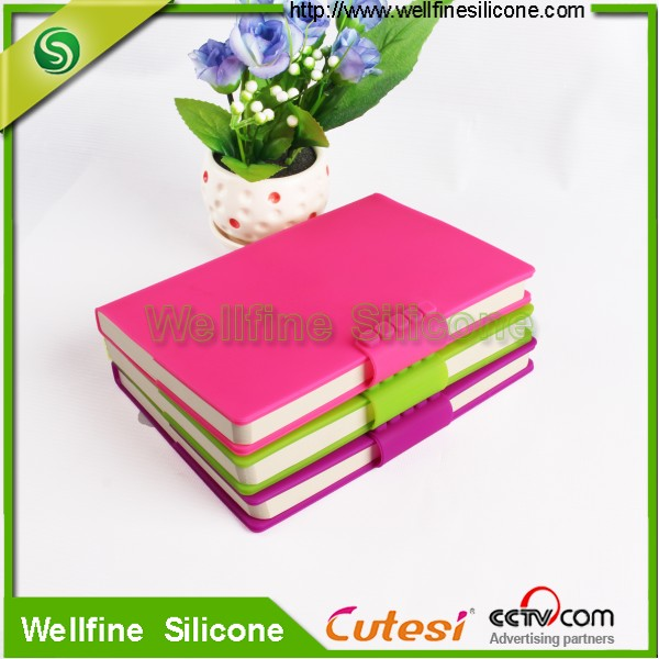 A5 A6 A7 silicone soft cover exercise book for school students