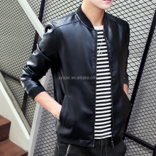 818 Men Winter Leather Jacket OEM Clothing Manufacturing