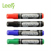 oil based permanent marker with a clip refillable