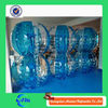 Stress Bubble Ball Half Bule Color Good Human bubble suit For Football / Soccer Ball