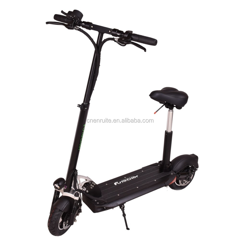 EVO Portable CE&ROHS Smart Kick Electric Scooter front and Rear Double suspension Specification For Sale