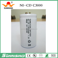 Nicd SC 3000mAh Rechargeable Battery / 1.2V Ni CD Rechargeable Battery
