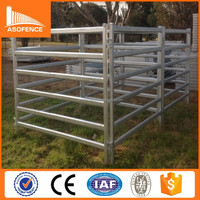 hot sale heavy duty hot dipped galvanized corral panels /metal livestock farm fence for cattle sheep or horse